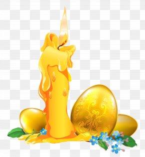 Easter Golden Egg Decoration Clipart - Easter Bunny Clip Art PNG
