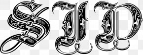 Gothic - Gothic Alphabet Calligraphy Blackletter Font PNG