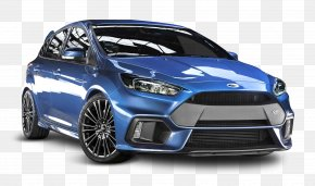 Blue Ford Focus RS Car - 2016 Ford Focus RS Car 2017 Ford Focus RS PNG