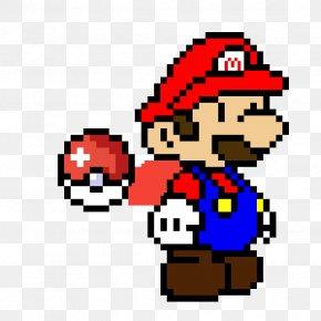 Luigi Mario Bros Super Mario World Pixel Art Png