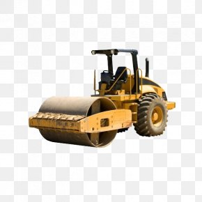Civil Engineering - Architectural Engineering Asphalt Concrete Heavy Equipment Loader PNG