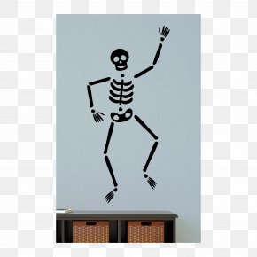 Wall Decal - Wall Decal Skeleton Sticker PNG