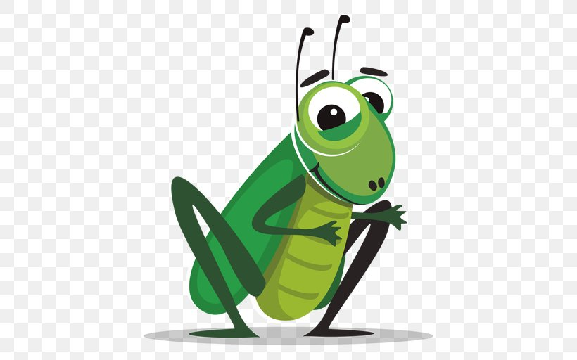 Cricket Drawing Clip Art, PNG, 512x512px, Cricket, Amphibian, Animation, Batting, Cricket Bats Download Free