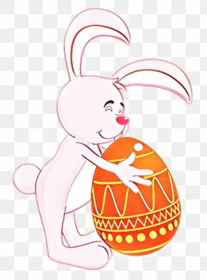 Easter Bunny Rabbit - Easter Egg PNG