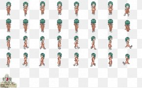 2d Game Character Sprites - Sprite Template Animation OpenGameArt.org 2D Computer Graphics PNG