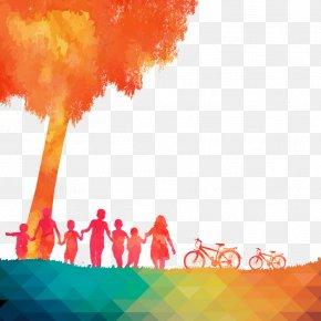 Orange World - Graduation Ceremony Poster PNG