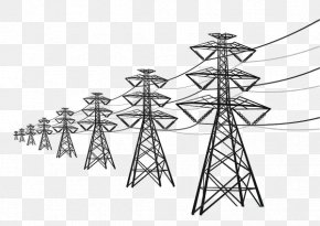 High Voltage Wire - High Voltage High-voltage Cable Electric Power Transmission PNG