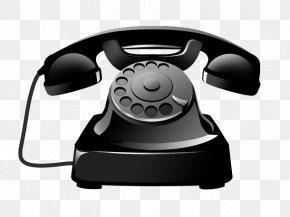 Antique Black Telephone Icon - Telephone Icon PNG