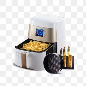 Oil-free Household Electric Grill Kebab Machine Fries Machine - French Fries Kebab Barbecue Frying Deep Fryer PNG