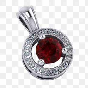 Jewelry Image - Pendant Gemstone Ruby Earring Necklace PNG