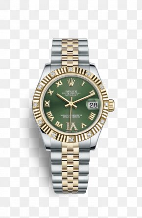 Rolex - Rolex Datejust Automatic Watch Gold PNG