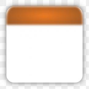 Orange Calendar Cliparts - Clip Art PNG