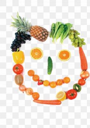 Fruits And Vegetables Smile - Fruit Restaurant Vegetable Cafeteria Clip Art PNG