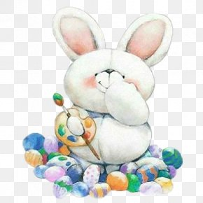 Easter Bunny - Easter Bunny Love Happiness PNG