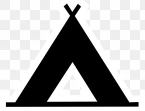 Teepee Tent - Camping Tent Campsite Clip Art PNG