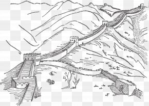 Great Wall Of China - Great Wall Of China Tiananmen Square Temple Of Heaven Clip Art PNG