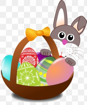 Easter Basket Bunny Transparent Images - Easter Bunny Easter Parade Easter Basket Egg Hunt PNG