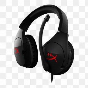 Headphones - Kingston HyperX Cloud Stinger Headphones Microphone Kingston HyperX Cloud Alpha PNG