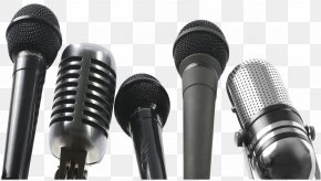 Microphone Transparent Images - Microphone Interview Sound Journalist Voice-over PNG