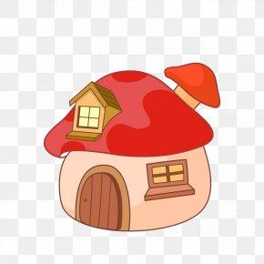 Creative Cartoon House - Cartoon House Royalty-free PNG