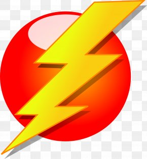 Yellow Lightning - Electricity Electric Power Symbol AC Power Plugs And Sockets Clip Art PNG