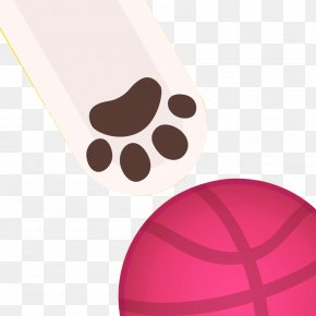 Cat Claws And Basketball - Cat Claw App Store PNG