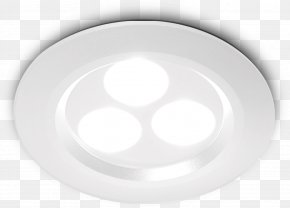Fancy Ceiling Lamp - Lighting Light-emitting Diode White Recessed Light PNG