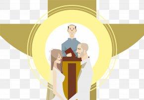 Romantic Wedding Wedding Vector Material - Marriage Wedding Romance PNG