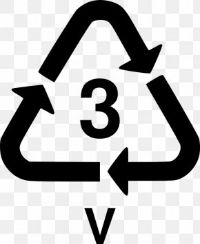 Recycled Symbol - Plastic Recycling Paper Polyvinyl Chloride PNG