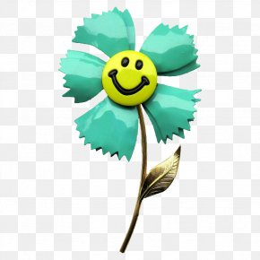 Smiley Flower Cliparts - Smiley Emoticon Flower Clip Art PNG