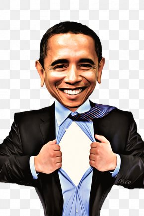 Moral Propaganda - Barack Obama President Of The United States Democratic Party Caricature PNG