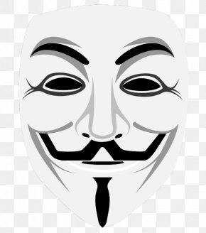 Guy Fawkes Mask - Guy Fawkes Mask Gunpowder Plot Guy Fawkes Night Anonymous PNG