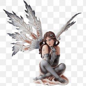 Fairy - Figurine Statue Fairy Snowflake Winter PNG