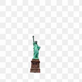 Building - Statue Of Liberty Teal Square, Inc. Pattern PNG
