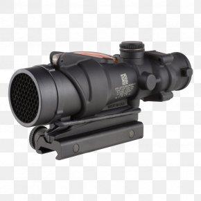 Optics - Advanced Combat Optical Gunsight Trijicon M4 Carbine Weapon PNG