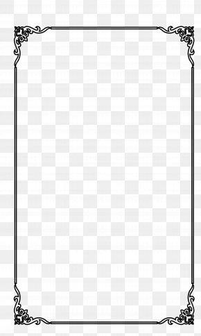 The Elegant Black Frame Vector Material Stripe - Picture Frame Computer File PNG