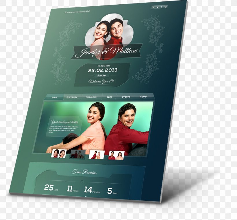 Wedding Invitation Responsive Web Design Marriage Personal Wedding