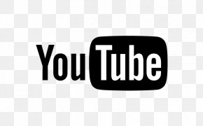Lambang Black N White - YouTube Logo Television Show PNG