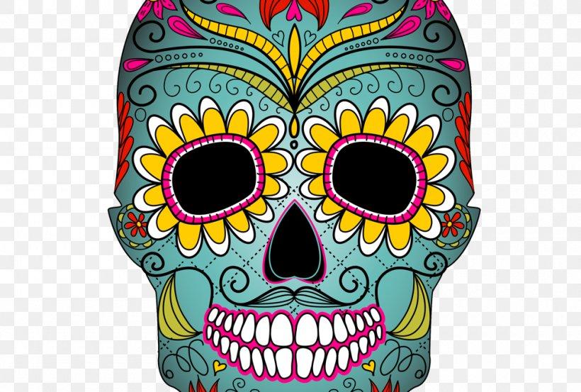 Calavera Day Of The Dead Skull Clip Art, PNG, 1000x675px, Calavera, Bone, Day Of The Dead, Death, Gift Download Free