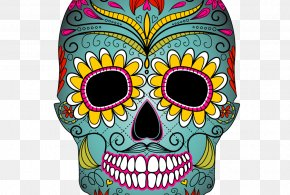 Day Of The Dead - Calavera Day Of The Dead Skull Clip Art PNG