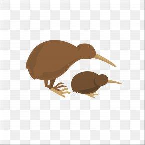 Flat Bird - New Zealand Flat Design Icon PNG