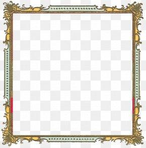 Frame Border - Picture Frame Clip Art PNG