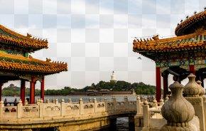 Beihai Park - Beihai Park Wulongting Odori Park Yongrui Pavilion Tourist Attraction PNG
