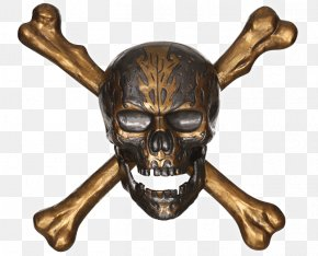 Pirates Of The Caribbean - Pirates Of The Caribbean Skull And Crossbones Piracy Wall PNG