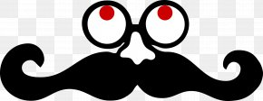 Moustache - Handlebar Moustache Clip Art PNG