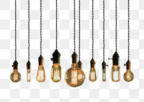 String Lights - Lighting Incandescent Light Bulb Pendant Light Light Fixture PNG