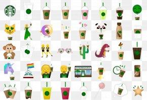 Emoji - Emoji Starbucks Emoticon Text Messaging Clip Art PNG