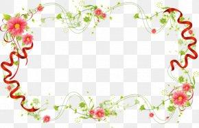 Flower - Wedding Invitation Picture Frames Floral Design Clip Art PNG