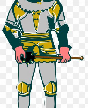 Knight Vector - Middle Ages Knight Clip Art PNG