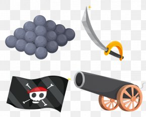 Black Pirate Equipment - Piracy Royalty-free Clip Art PNG